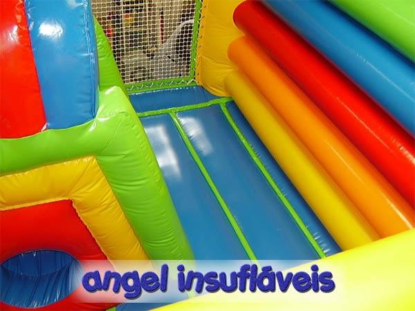 inicio angel insuflaveis modelo combi multi para crianças até 12 anos