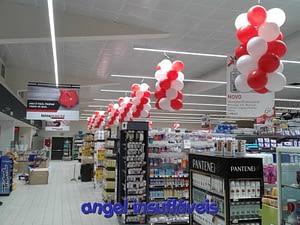grinalda de balões intermarche