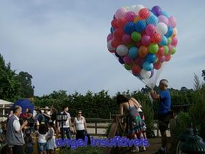 largada de balões na rede