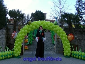 balões decoração tema animais