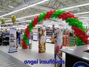arco de balões eleclerc