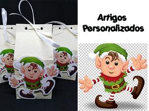 caixa personalizada tema natal